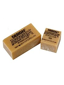 Artgum Gum Erasers 1 in. x 1 in. x 7 8 in. box of 24 24866-PK