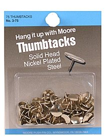 Economy Decorative Thumb Tacks