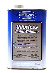 Odorless Paint Thinner 32 oz.