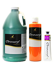 Chromacryl Students' Acrylic Paints
