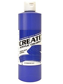 Acrylic Colors ultramarine blue 8 oz. 85773