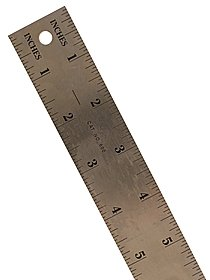 600 Series Stainless Steel Ruler