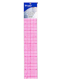 8ths Graph Beveled Transparent Rulers