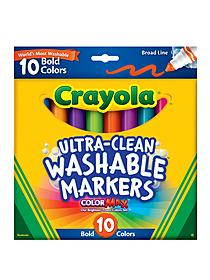 Bold Colors Washable Marker Set