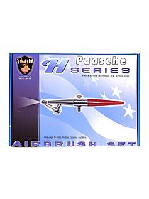 Model H (Hobby) Airbrush Set H-set single action airbrush set