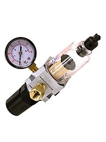Air Regulator, Filter and Gauge for Air Compressors
