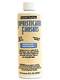 Sophisticated Finishes Primer and Clear Sealer