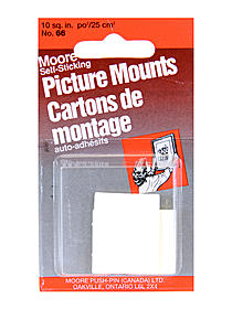 Self-Sticking Picture Mount