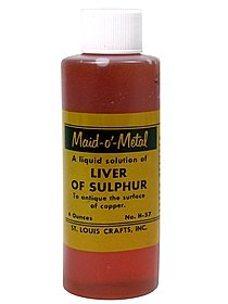 Liver Of Sulphur 4 oz. bottle