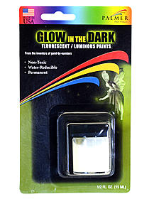 Luminous Glow-in-the-Dark Paint
