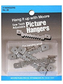 Saw Tooth Adjustable Hanger Adjustable