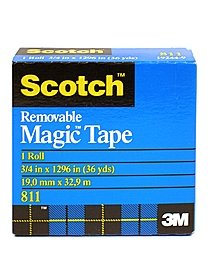 Scotch Magic Tape Removable  811