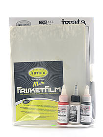 Basic Airbrush Techniques Excercise Kit