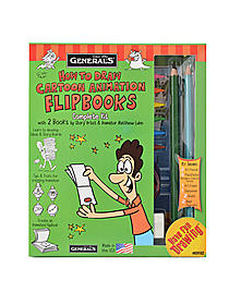 How to Draw Cartoon Animation Flip Books Kit each 52920