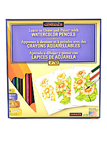 Learn  Watercolor Pencil Techniques Now! Kit #70
