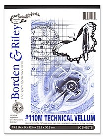 #110M Technical Vellum