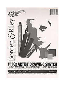 #116 Artist Drawing/Sketch Vellum Clothbound Pads