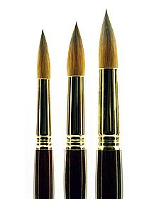 Series 1212 Tajmyr Kolinsky Sable Brushes