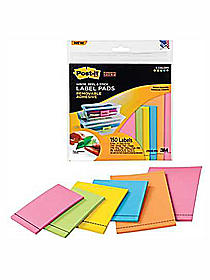 Super Sticky Removable Label Pads
