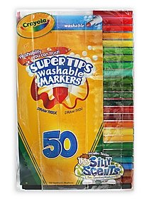 Washable Super Tip Markers with Silly Scents