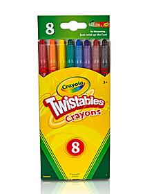 Twistables Crayons set of 8 49209