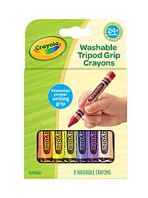 Beginnings Washable Triangular Crayons