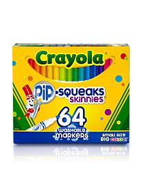 Washable Skinny Markers Pack of 64