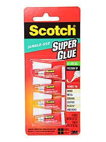 Scotch Single Use Super Glue Gel