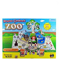 Recycled Cardboard Zoo