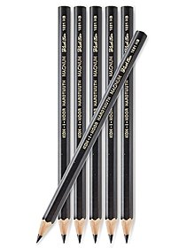 Magnum Black Star Graphite Pencil