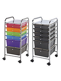 Blue Hills Studio 6-Drawer Storage Cart