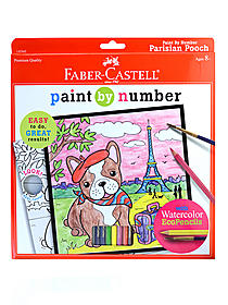 Paint by Number with Watercolor Pencils Kits