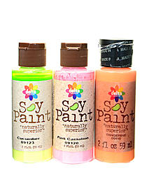 Soy Paint 2 oz. bottles