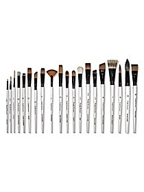 Simply Simmons Watercolor & Acrylic Short-Handle Brushes