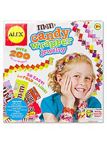 M & M's Candy Wrapper Jewelry Kit
