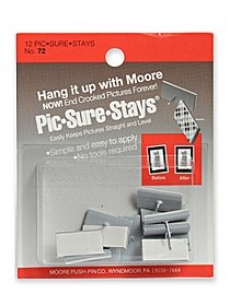Household Hardware Pic-Sure-Stay 12 pack