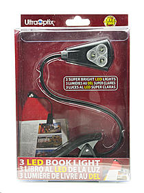 EZ-Flex 3-LED Book Light