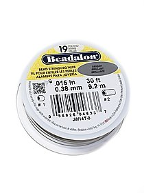 19 Strand Bead Stringing Wire