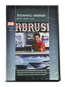 Beginning Airbrush with Terry Hill DVD each