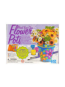 Paint Your Own Flower Pots each