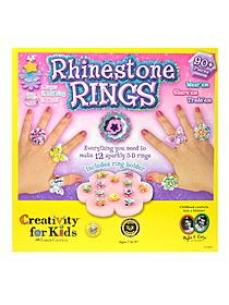Rhinestone Rings each
