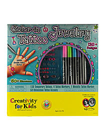 Color in Tattoo Jewelry
