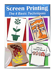 Screen Printing: The 4 Basic Techniques -- DVD