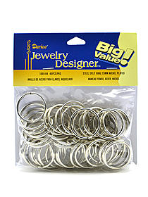 Nickel Plated Steel Split Rings