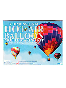 3D Hot Air Balloon Mobile Kit