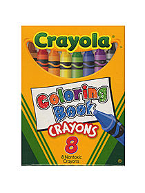 Coloring Book Crayons