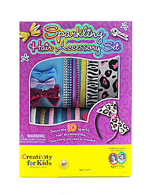 Fashion Sparkling Hair Accessory Set
