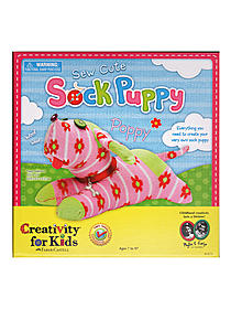 Sew Cute Sock Puppy each