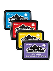 Adirondack Pigment Pads and reinkers