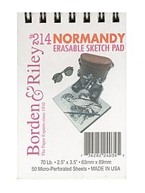 #214 Normandy Erasable Sketch Pad